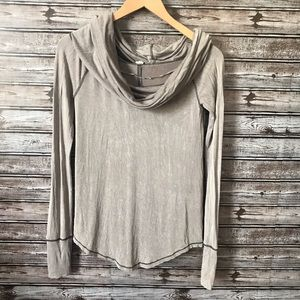 We the free by free people cowl neck